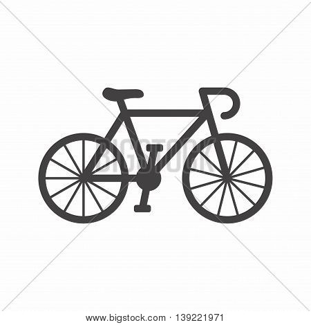 A bicycle is a human-powered, pedal-driven, single-track vehicle, having two wheels attached to a frame, one behind the other.