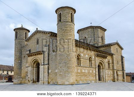 St. Martin Church in Romanesque style in Fromista Palencia Castilla y Leon Spain