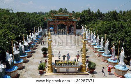 Buddha Statue At Bac Lieu Pagoda