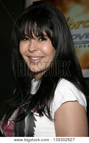 Maria Conchita Alonso at Christian Audigier Fashion Show Featuring New Ed Hardy Label held in Hollywood, USA on May 21, 2005.