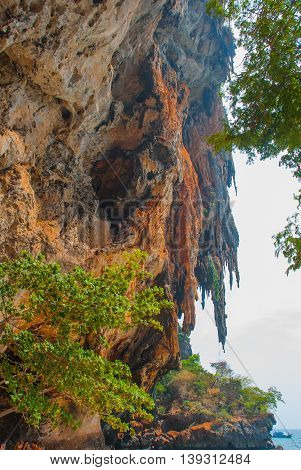 Phra Nang Cave. Peninsula Of Railay. Krabi, Thailand.