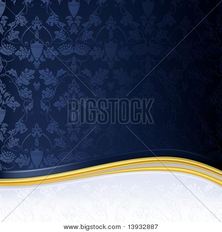 Blue Luxury Background