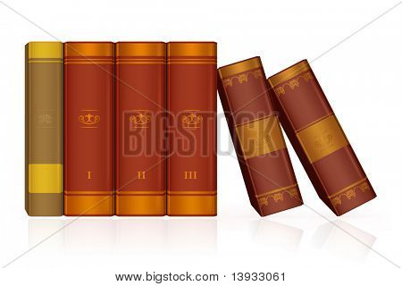 Books, vector