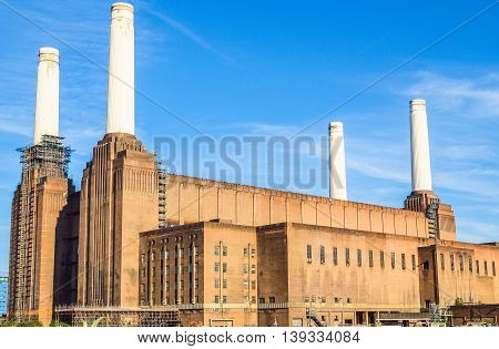 Battersea Powerstation London Hdr