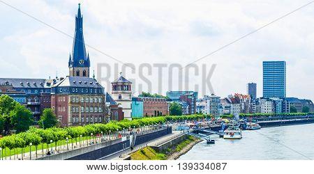 Duesseldorf Hdr