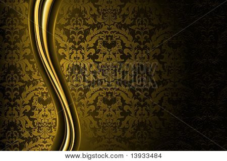 Golden Luxury Background