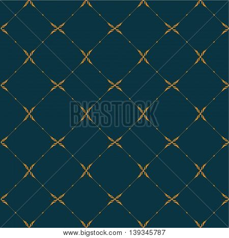 Seamless patterns with abstract decorative ornament. Vector.