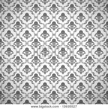 Patrón de papel tapiz transparente, vector