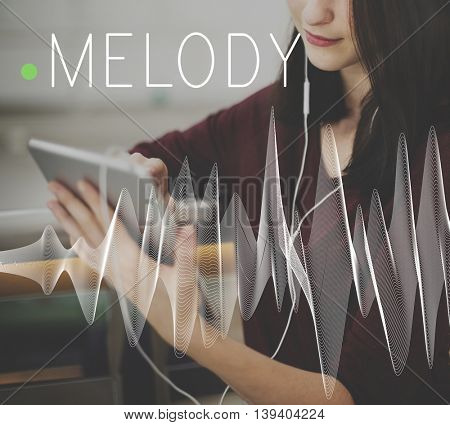 Melody Chord Note Octave Performance Detail Concept