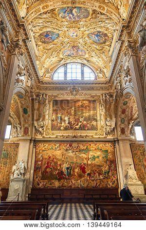 Interior Of Basilica Di Santa Maria Maggiore