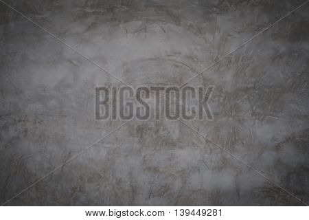 grey cement wall bare background texture with copy space.