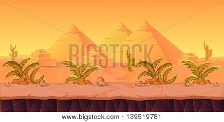 Game Background for your application , project. The Game background is made in vector. Size 1024x512