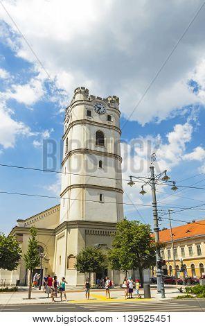 Reformed Church In Debrecen, Hungary