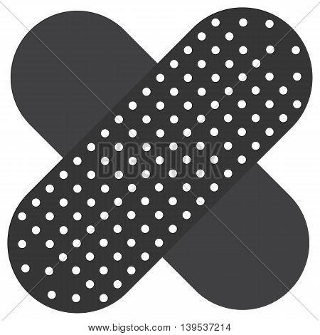 Band Aid icon adhesive bandage silhouette care symbol