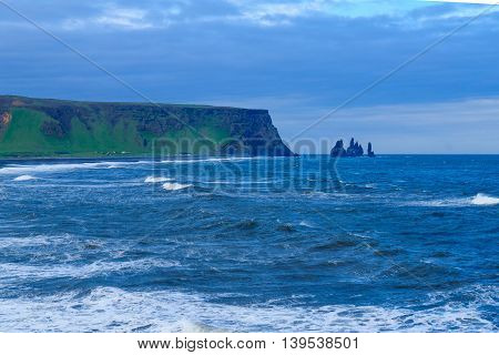 Dyrholaey, A Headland  In South Iceland