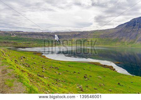 Dynjandi Waterfalls, In The West Fjords