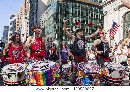 Dyke March In Nyc