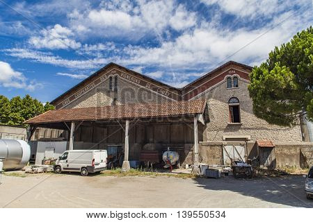 Cave Cooperative Des Vignerons In Cruzy, France