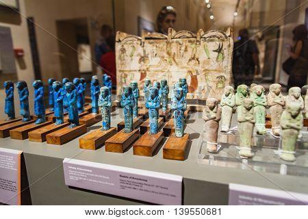 Grave Goods In Museo Egizio In Turin