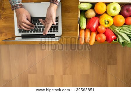 Garden And Farming Working Concept