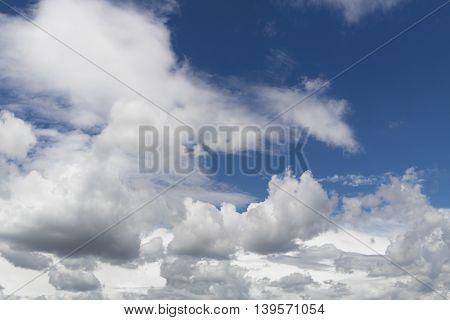 Sky, blue sky, blue sky and clouds, beautiful blue summer sky, blue sky and white clouds