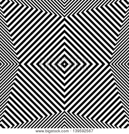 Pattern, Texture With Geometric Structure Of Lines. Monochrome Cellular, Reticular Lines.