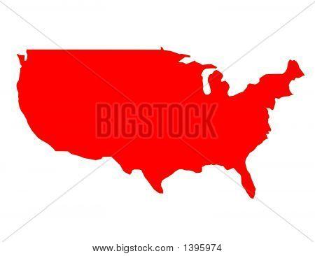 Usa Map Eps.Ai