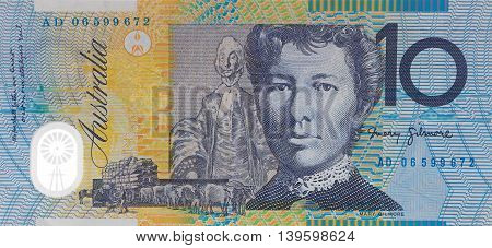 Australian Ten Dollar Note