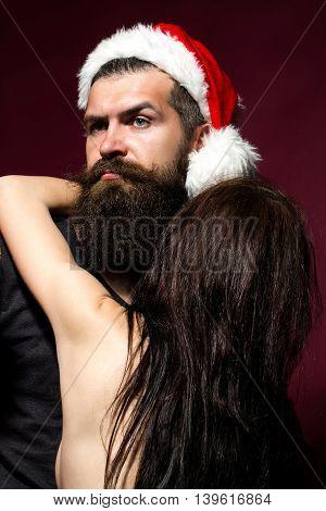 Sexy Christmas Couple