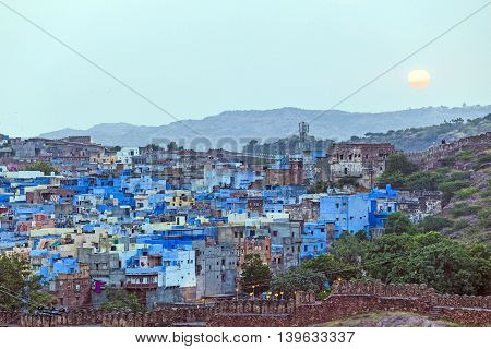 Sunset In Jodhpur The