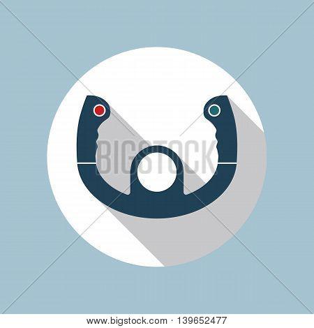 Aircraft Steering Vector Photo Free Trial Bigstock
