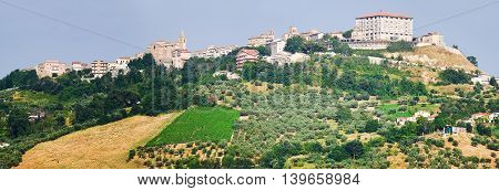 Small village iin Chieti province named Bucchianico