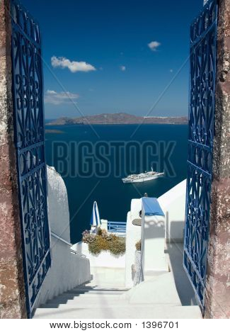Welcome In Santorini