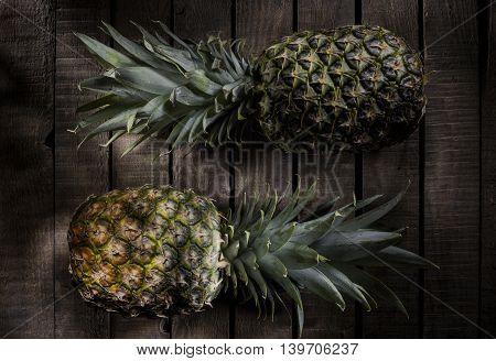 Pineapple, fruit, still, life, owoce, ananasy, martwa natura