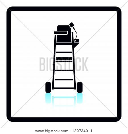 Tennis Referee Chair Tower Icon