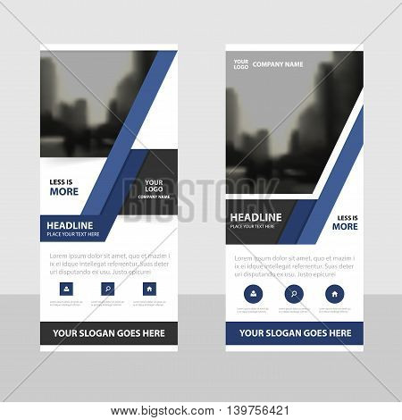 Purple black Business Roll Up Banner flat design template Abstract Geometric banner template Vector illustration set abstract presentation brochure flyer template vertical template vector