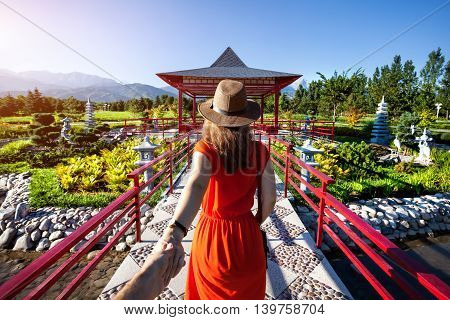 Follow Me To Japanese Garden
