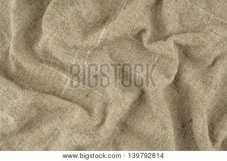 Background of burlap hessian sacking.Background of burlap hessian sacking