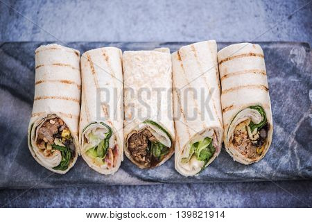 Tortilla Wraps, Light Food Ideas