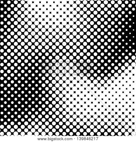White abstract background with black and white halftone texture, dotwork, circles pattern for design concepts, banners, posters, web, presentations and prints. Vector illustration.