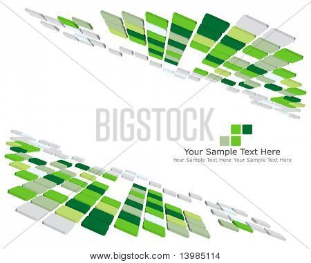 Abstract 3d checked  business background for use in web design