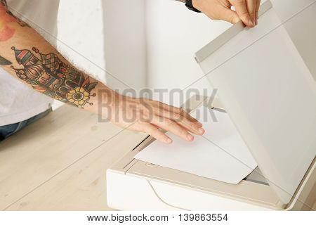 Printer Scanner Set