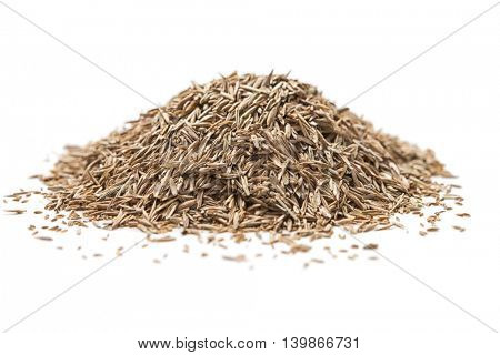Pile of grass seed