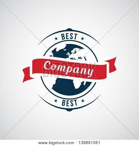 Vector abstract logo. Company identity