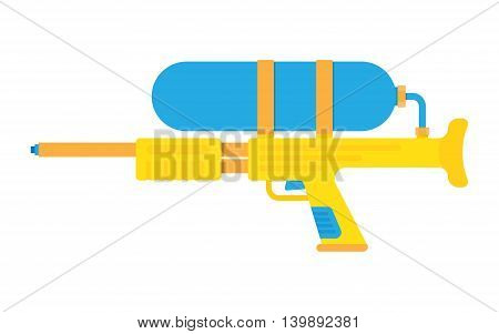 water gun vector illustration icon isolated on white background