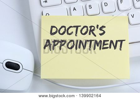 Doctor's Medical Appointment Doctor Medicine Ill Illness Healthy Health Office