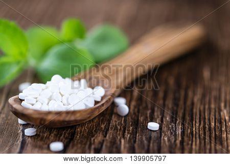 Portion Of Stevia Sweetener