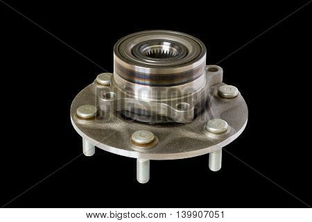 wheel bearing kit for car on black
