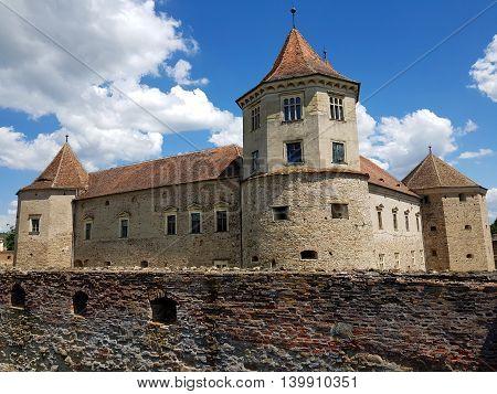 Romanian Historic Landmarks - Fagaras Medieval Castle
