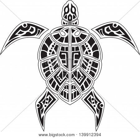 cute of Turtles tattoo for your design